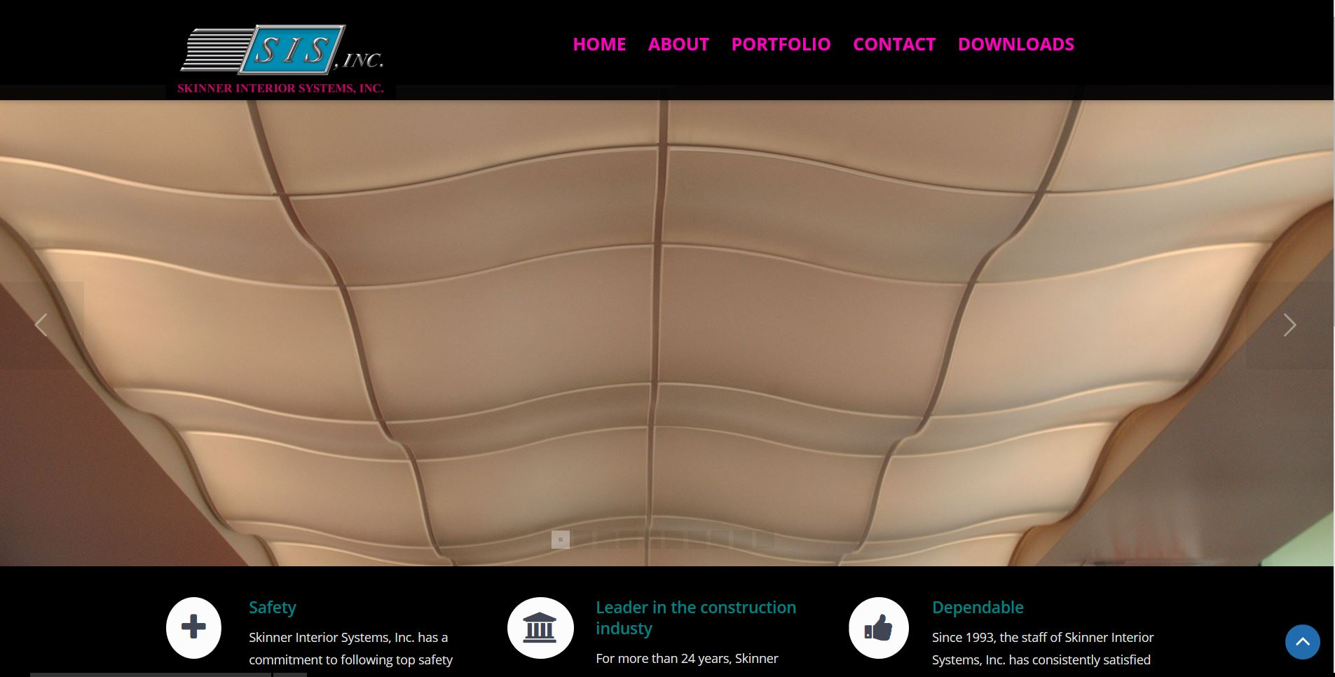 Skinner Interior Systems, Inc. New Website